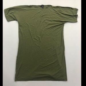 Eileen Fisher Women's Green Short Sleeve Dress
